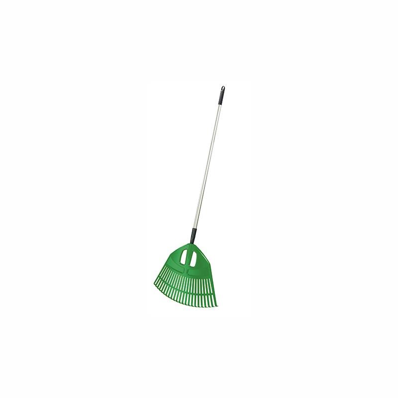 Garden rake EXPERT ALU - GREEN