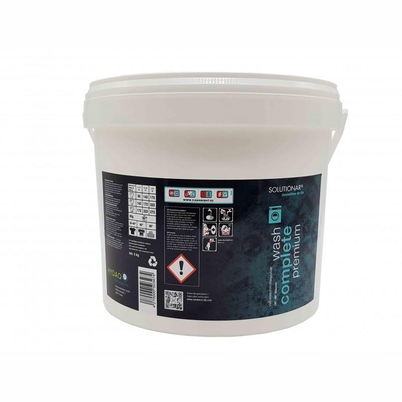 wash complete premium - detergent washing powder suitable for allergic persons 5 kg