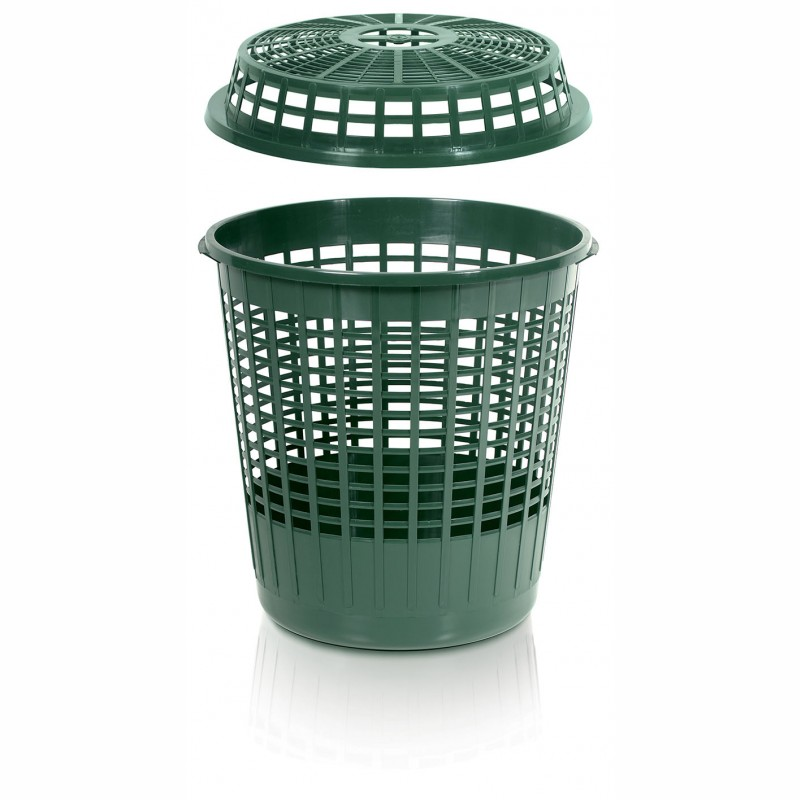Basket CAGE - FOREST GREEN