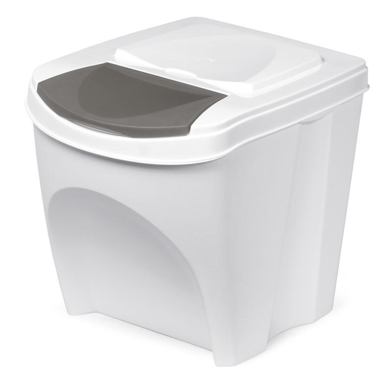 Waste bin - white
