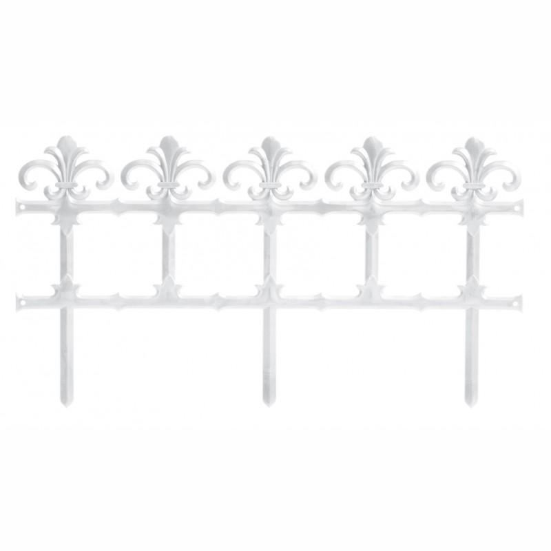Garden fence GARDEN ART. - WHITE