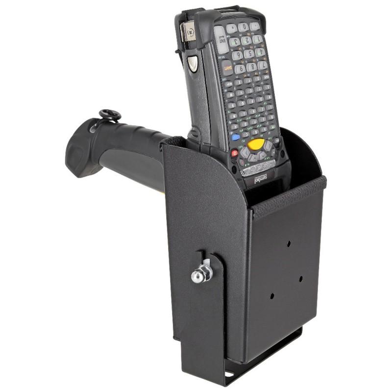 Max Michel scanner holder for Zebra MC9300, mounting bracket