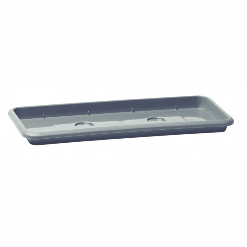 Saucer UNIVERSA - stone gray
