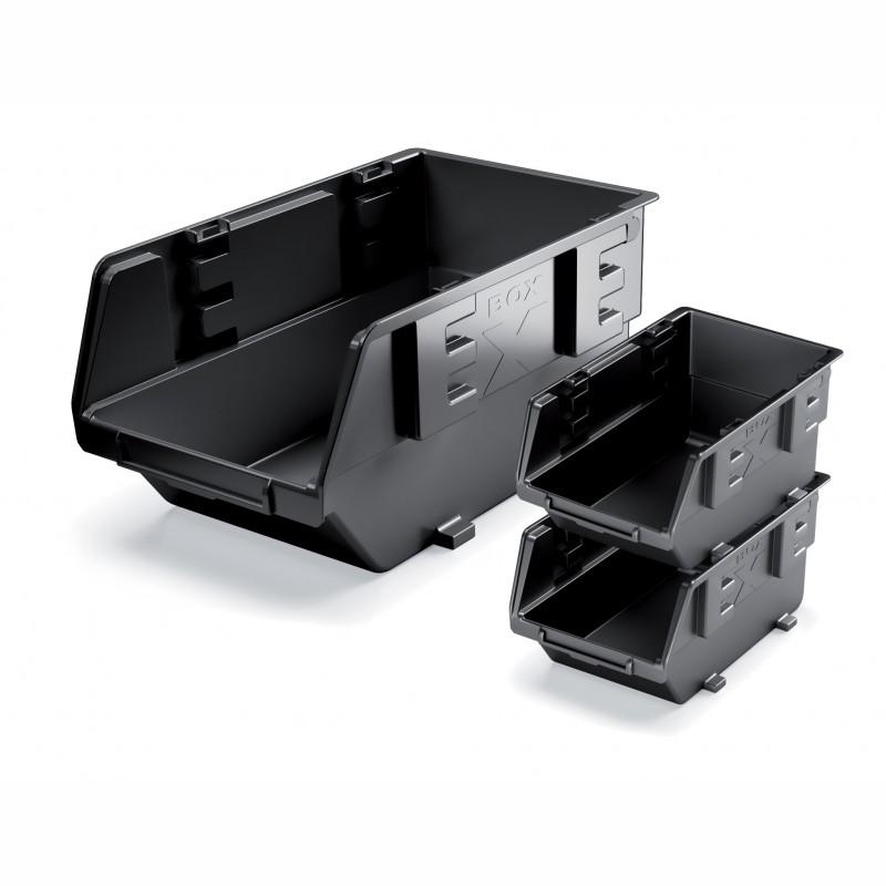 Storage bin EXE BOX - red