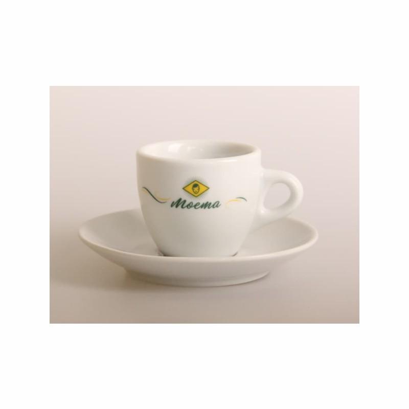 24 Porcelain Espresso Cup Set 70ml