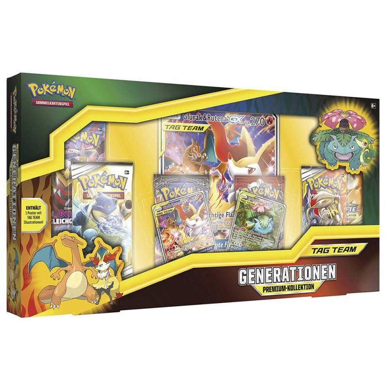 Pokemon - Sammelkarten-Spiel - Generationen Premium-Kollektion - TAG TEAM - Sammler-Edition