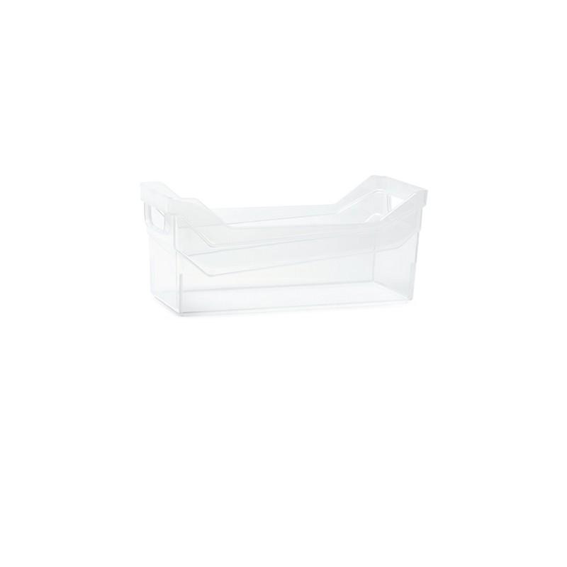 Container NUK low - transparent | Size: 27,9 cm x  12 cm x  12 cm (LxBxH)