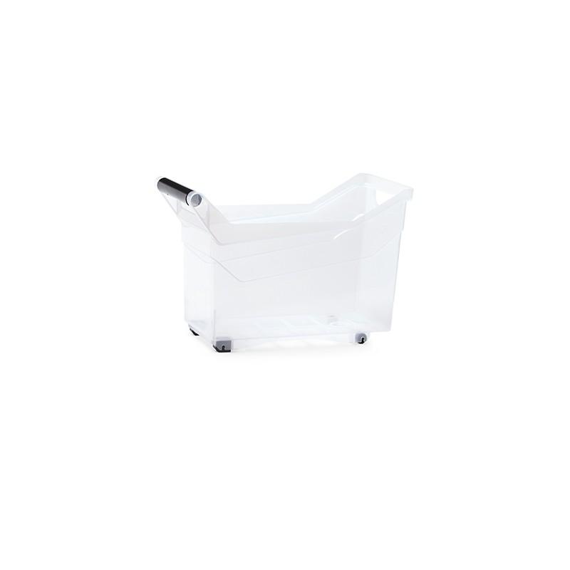 Container NUK high - transparent | Size: 38 cm x  17,7 cm x  25,6 cm (LxBxH)
