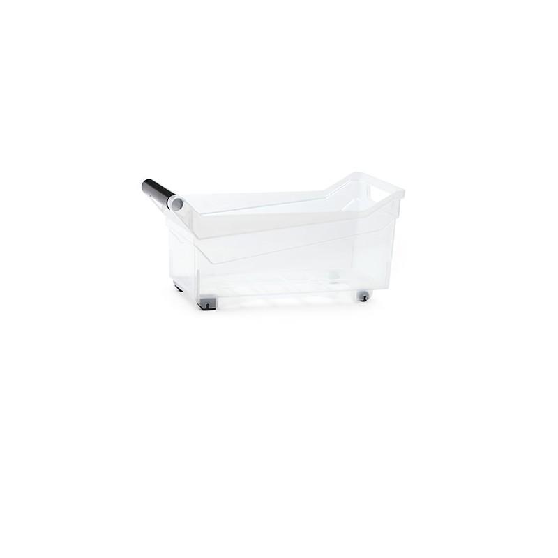 Container NUK low - transparent | Size: 38 cm x  17,7 cm x  18 cm (LxBxH)