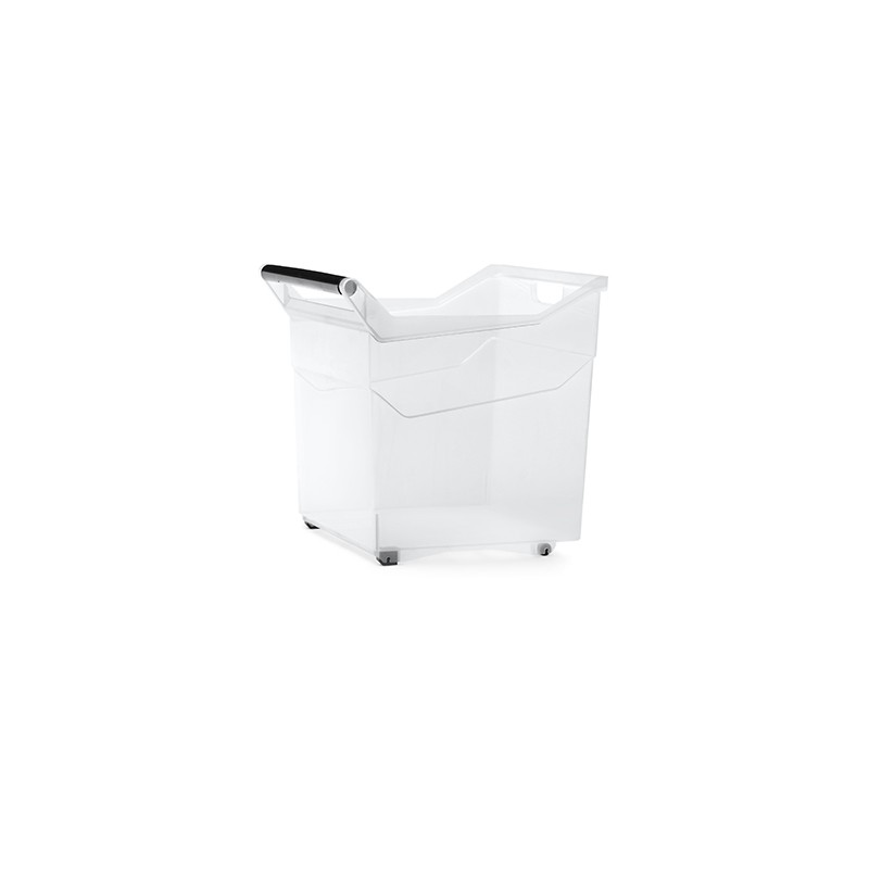 Container NUK high - transparent | Size: 38 cm x  37,9 cm x  37,9 cm (LxBxH)