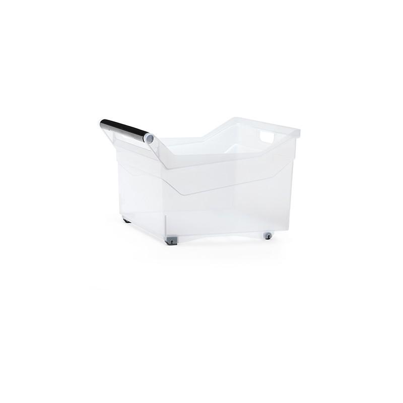 Container NUK  low - transparent | Size: 38 cm x  37,9 cm x  25,6 cm (LxBxH)