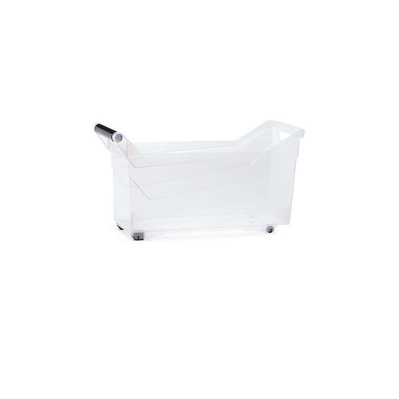 Container NUK low - transparent | Size: 48 cm x  17,7 cm x  25,6 cm (LxBxH)