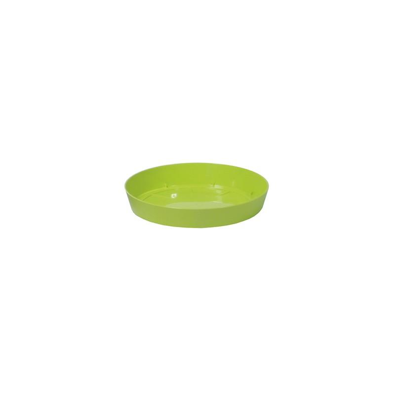 Saucer LOFLY - lime   Size: 10,5 cm x 10,5 cm x 1,7 cm (LxBxH)