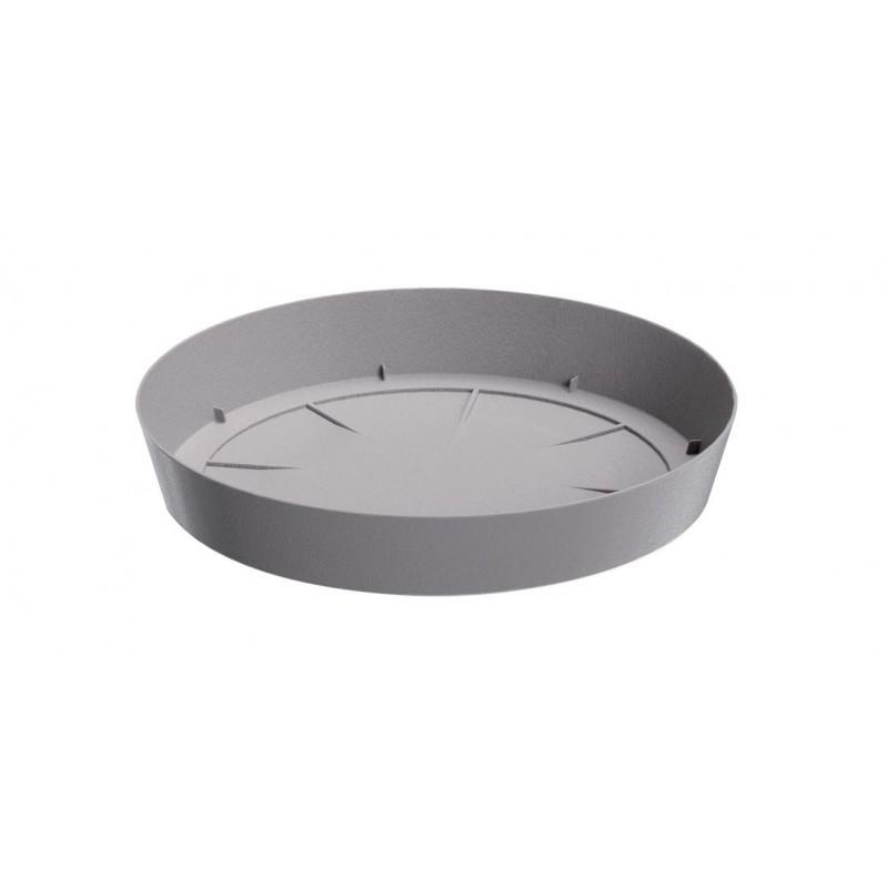 Saucer LOFLY - stone grey   Size: 10,5 cm x 10,5 cm x 1,7 cm (LxBxH)