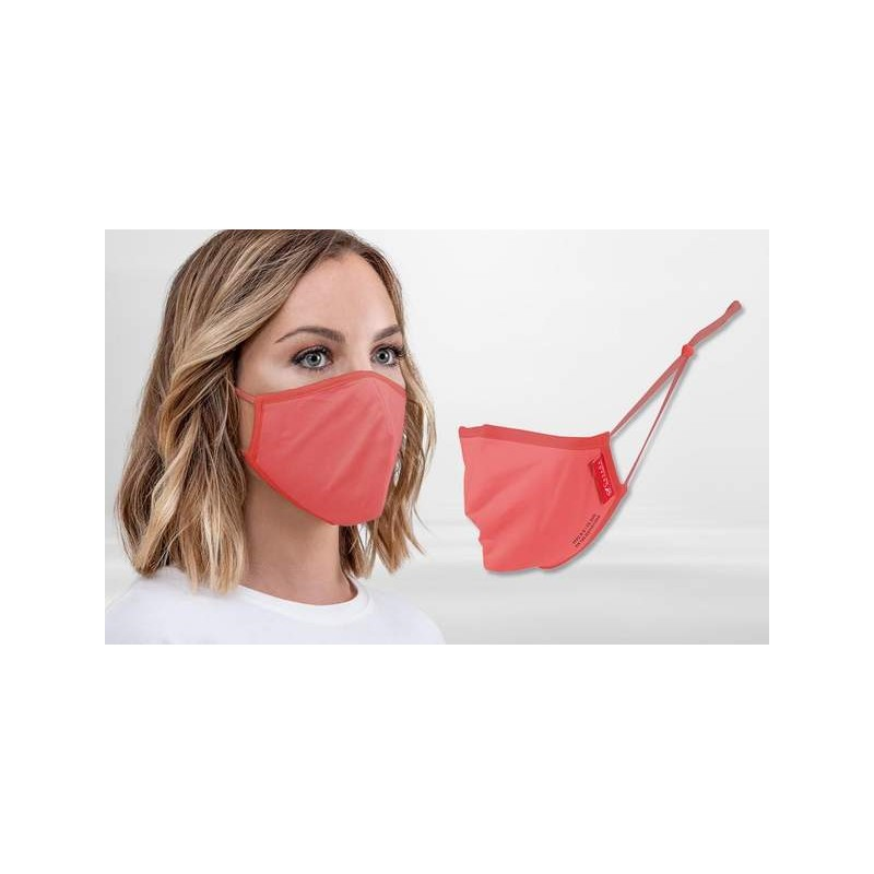 FFP2 Nano-Facemask, CE certified with adjustable ear loops Orange