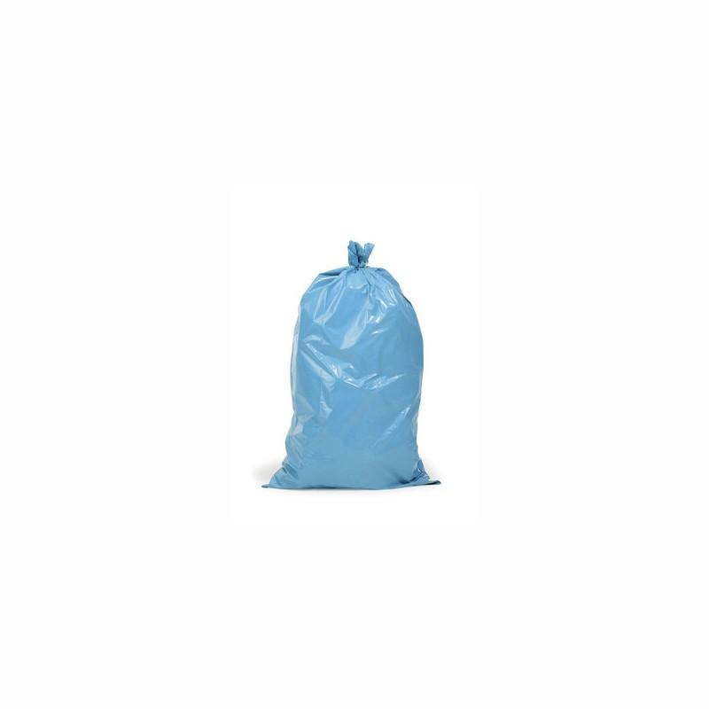 PE-Abfallsack Premium 650+550x1350mm, 60µ. blau,Inhalt 240l, f.Mülltonnen. 10 St. je Ro./10 Ro. je Karton