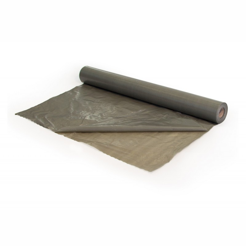 LDPE-Flachfolie 2000mm breitx50lfm, 50µ. transluzent. auf 1000mm gefaltet