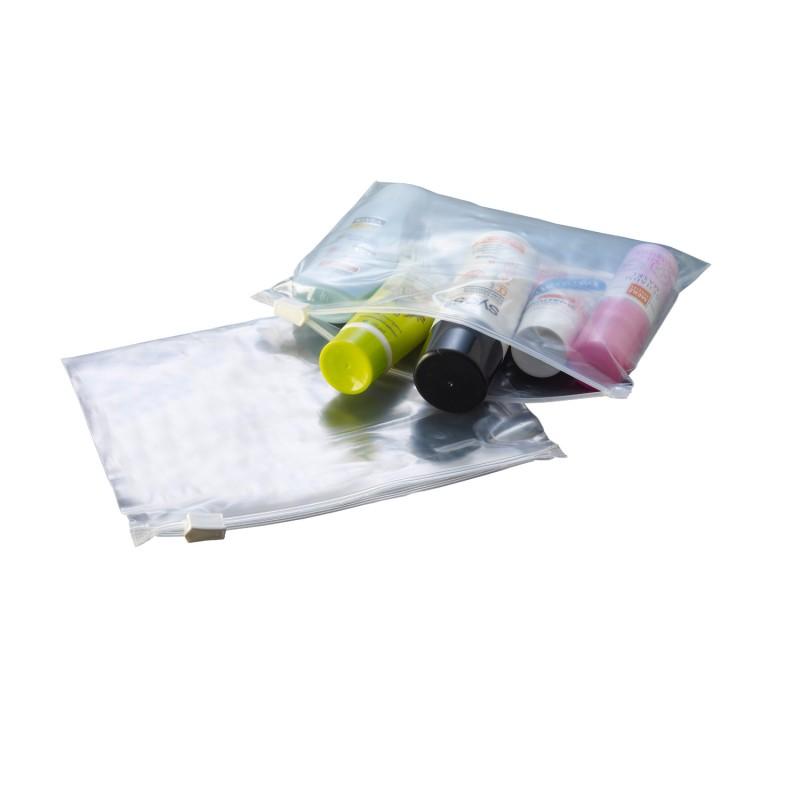 PE-Gleitverschlussbeutel 170x120mm, 60µ. transparent. gefrier-,hitze-,säurebeständig