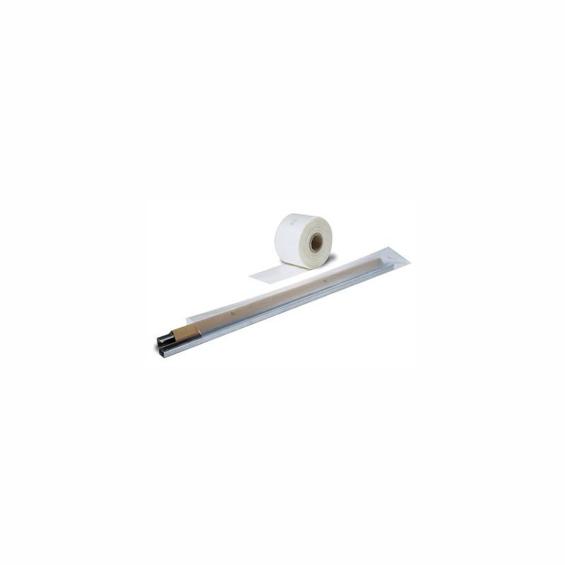 Schlauchfolie 200mm breitx125lfm, 200µ. transparent, LDPE.