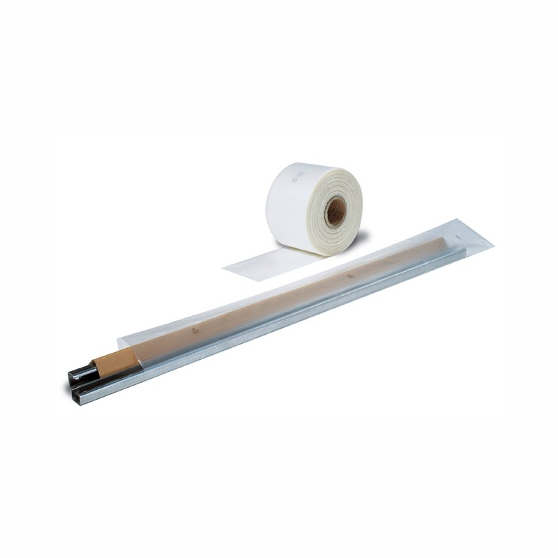Schlauchfolie 30mm breitx500lfm, 50µ. transparent, LDPE.