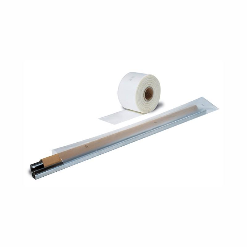 Schlauchfolie 80mm breitx500lfm, 50µ. transparent, LDPE.